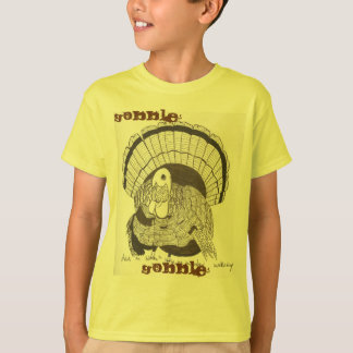 Gobble Gobble Turkey Kids Basic T-shirt