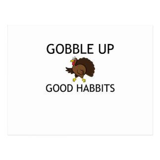Gobble Postcard