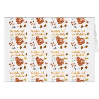 Gobble til ya wobble pattern1 card
