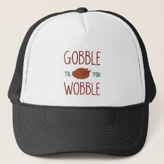 gobble-til-you-wobble-01 trucker hat