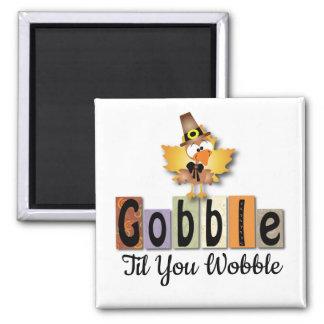 Gobble Turkey Magnet