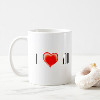 Goblet with two cute hegdehogs in love coffee mug