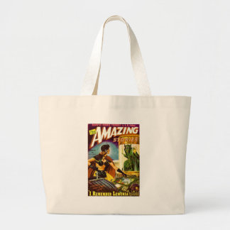 Goblin Behind Glass Large Tote Bag