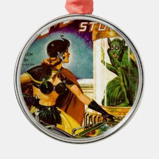 Goblin Behind Glass Metal Ornament