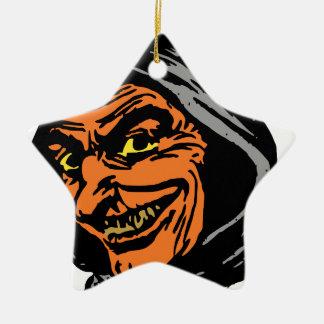 Goblin Ceramic Star Ornament