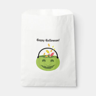 Goblin Halloween Pail | favor bag