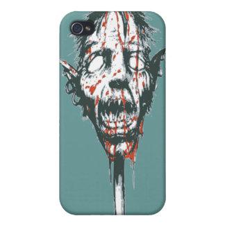 Goblin Head on a Pole iPhone 4/4S Covers