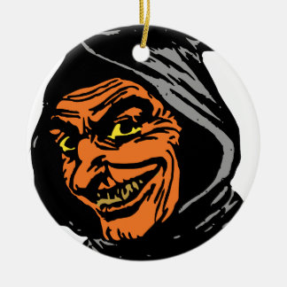 Goblin Round Ceramic Ornament