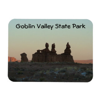 Goblin Valley State Park Rectangular Photo Magnet