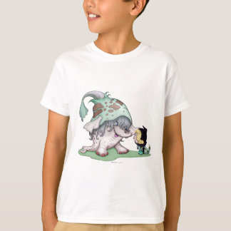 GOBOTRON ALIEN CARTOON  HANES TAGLESS SHIRT KID