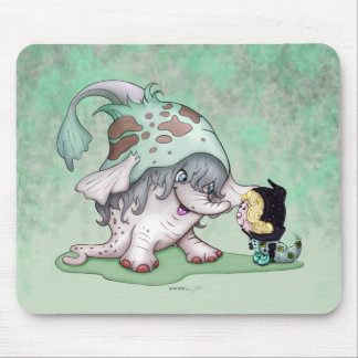 GOBOTRON CUTE ALIENS CARTOON MOUSE PAD
