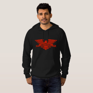 GOD and COUNTRY_red design Hoodie