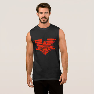 GOD and COUNTRY_red design Sleeveless Shirt