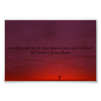 God are lord and father poster