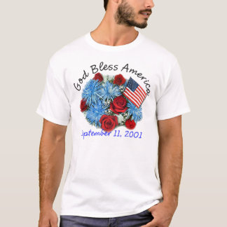 God Bless America 9/11 Rememberance T-shirts