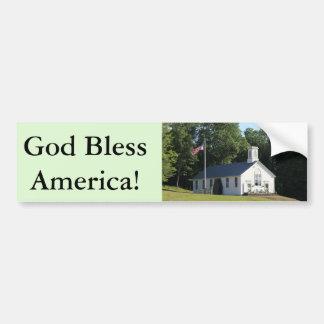 God bless America!  bumper sticker