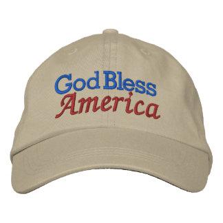 God Bless America Cap by SRF