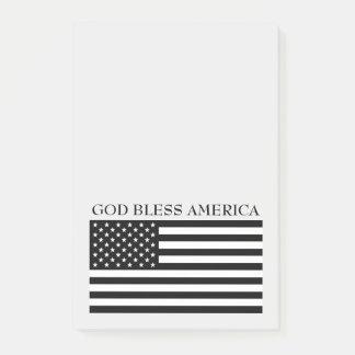 God Bless America Flag Notes