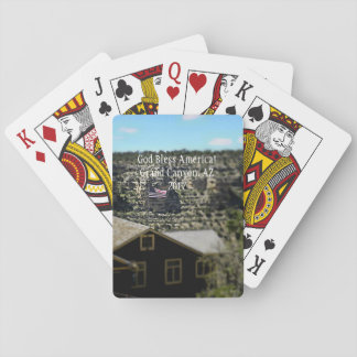 God Bless America! Grand Canyon 2017 Playing Cards