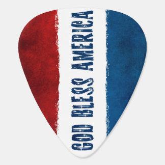 God Bless America Guitar Picks Pick