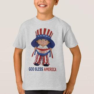 """God Bless America """"Kids T-shirt"""