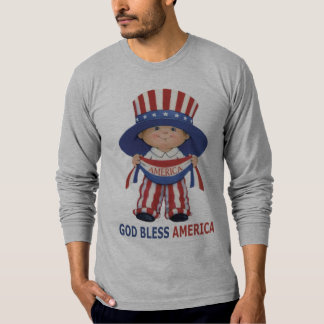 God Bless America-Long Sleeve T-Shirt