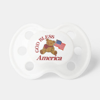 God Bless America Pacifier