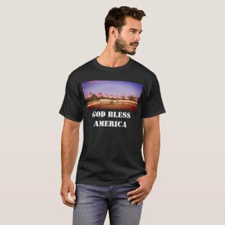 God bless America t-shirt, blk T-Shirt