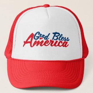 God bless America Trucker Hat