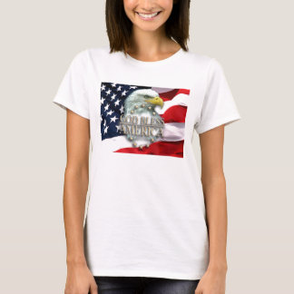 God Bless America Woman's T-Shirt
