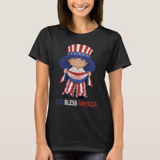 God Bless America women's T-shirt