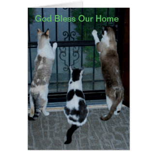 God bless our home card