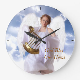 God Bless our Home Clock