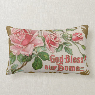 God Bless Our Home Decorative Pillow