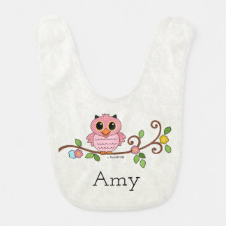 God Bless Our Little Girl: Personalized Baby Bibs