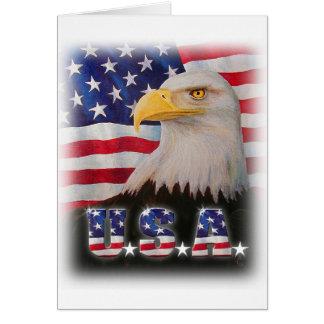 God Bless The U.S.A.! Card