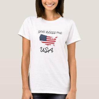 God Bless The USA,Red White Blue America Shirt