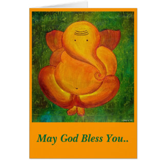 """God Bless You"" card for any occassion"