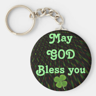 GOD Bless you keychain