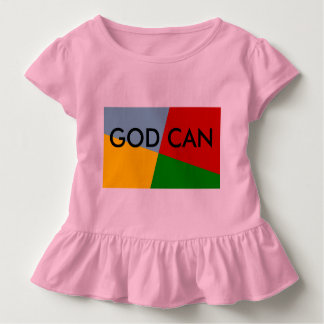 God Can Ruffle baby shirt