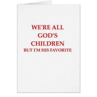 GOD CARD