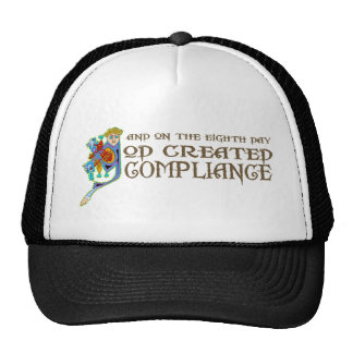 God Created Compliance Hat