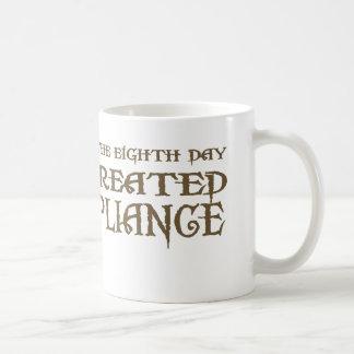 God Created Compliance Mugs