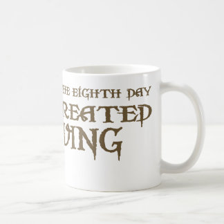 God Created Diving Coffee Mug