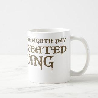 God Created Diving Coffee Mugs