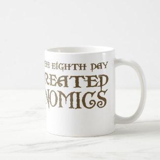 God Created Economics Mugs
