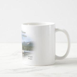 God created heaven mug