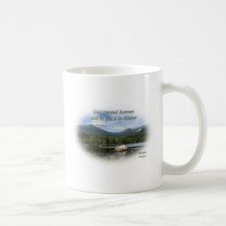 God created heaven mugs