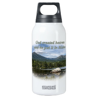 God created heaven SIGG thermo 0.3L insulated bottle