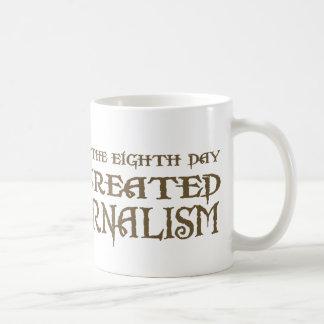 God Created Journalism Coffee Mug